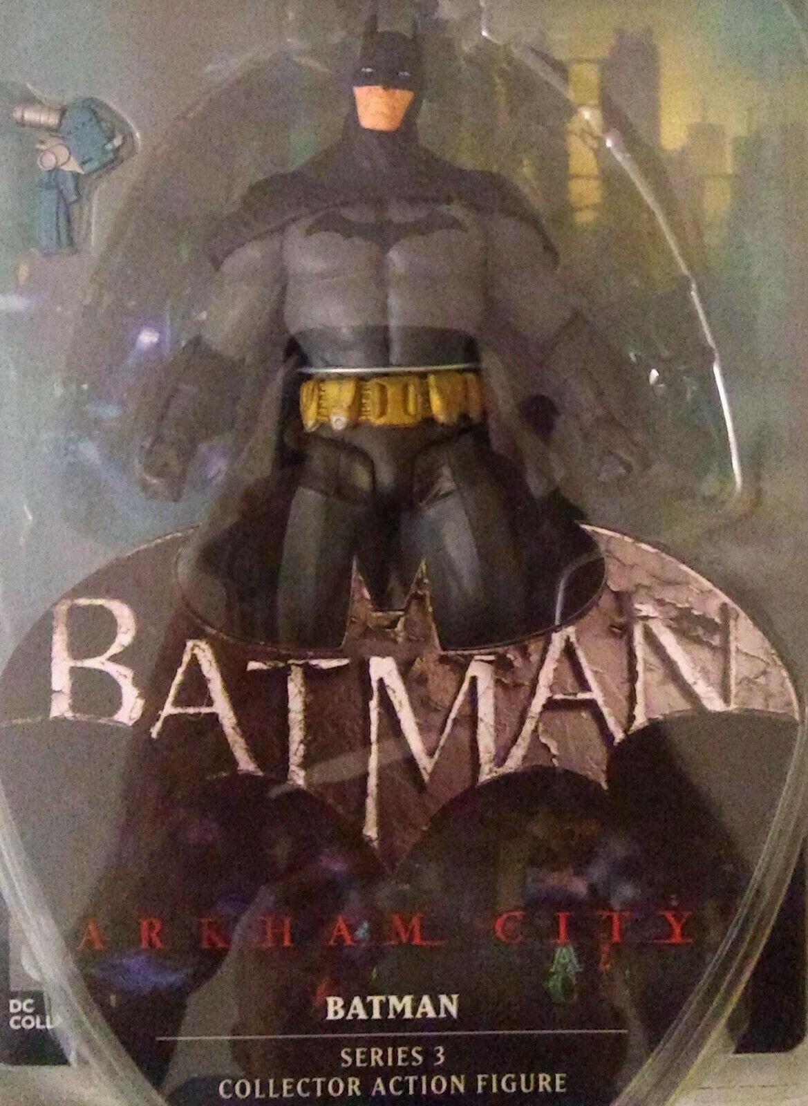 Batman Arkham City Series 3 Batman Batman Batman 6  Action Figure NEW NEW FREE SHIPPING 675bb9