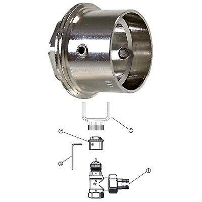 Danfoss RA 23mm auf M30x1,5mm Adapter