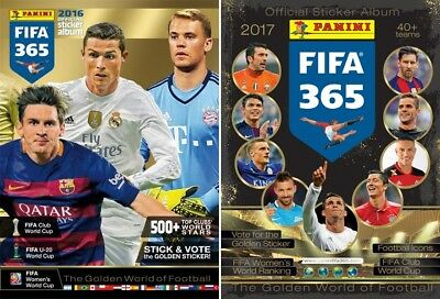 Fifa 365 2017 Panini Football stickers Choose 15 from list