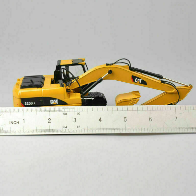 CAR CAT 320D L 1 50 Scale Diecast Toy Vehicles Hydraulic Excavator Car Model Toy