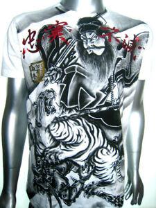 MMA-Japanese-Samurai-Tiger-Warrior-Venum-of-Yakuza-Affliction-Tattoo-Art-T-Shirt