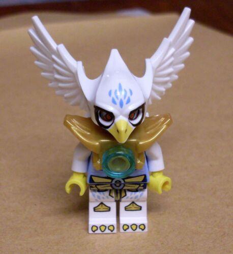 Lego Legends of Chima Equila Figur Vogel weiss mit Flügeln und Maske Bird Neu