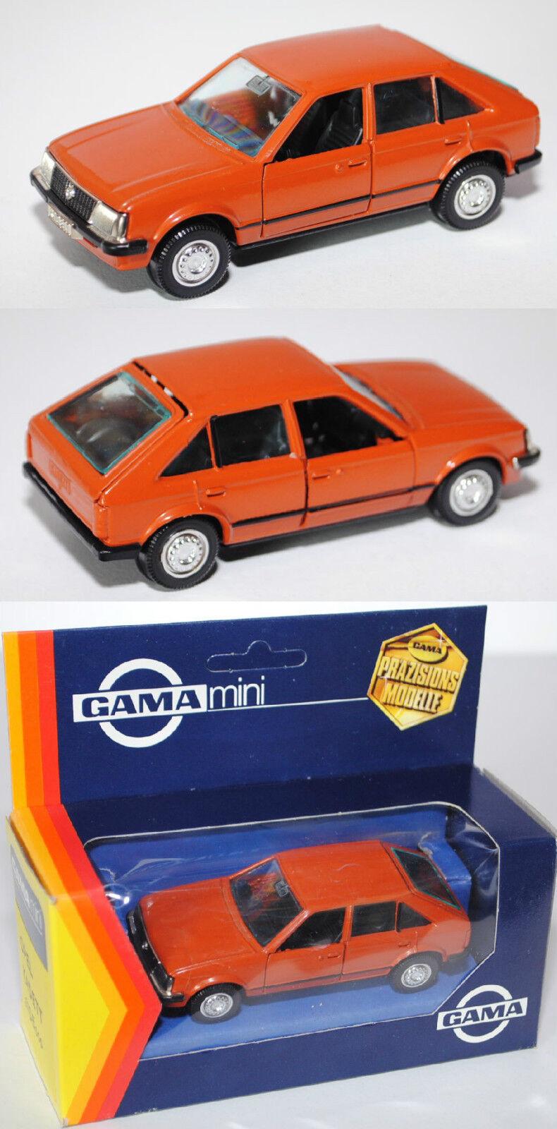 Gama Mini 1105 Opel Kadett 1.3 S TYPE D, Fünftürer, Hayon Arrière Modèle 1979-1984 1 43