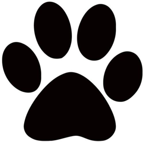 Aufbügler Pfote Dog Hund Bügelbild Hundepfote zum selbst Aufbügeln