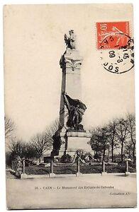 CPA-14-CAEN-Calvados-59-Le-Monument-des-Enfants-du-Calvados-Coll-AD