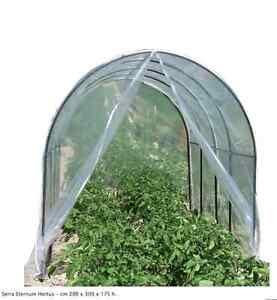 Tunnel Plastica Per Ortaggi.Serra Eternum Hortus Orto Da Giardino Tunnel 200 X 300 Per Piante