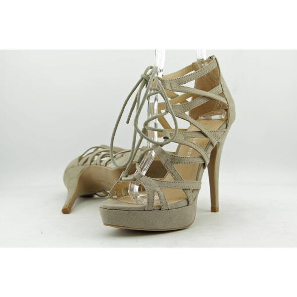 ab26f8fbcc1 Chinese Laundry Z-hop Scotch Women US 6 Gray Platform Sandal Defect 11620