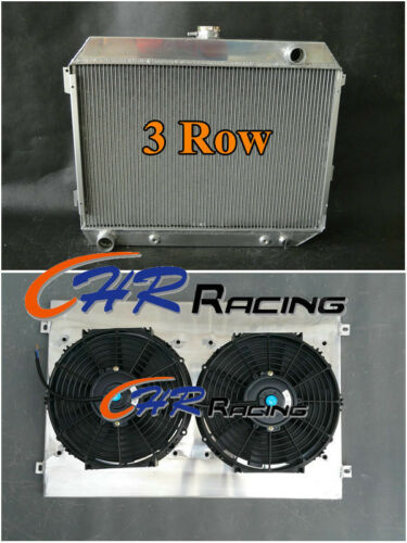 FOR 68-74 Dodge Charger//Challenger 70-74//68-72 Plymouth GTX Radiator+SHROUD+FANS