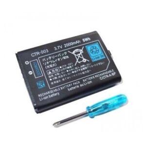 Bateria-Li-ion-3-7v-2000mAh-CTR-003-Nintendo-3DS-2DS-2D-NDS-3D-destornillado
