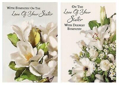 variable designs Buy 1 Get 1 Half Price Sister Sympathy Card