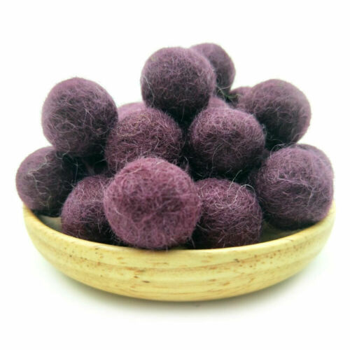 2cm New Pom Felt Balls Wool Beads Nursery Craft Supplies DIY Crafts Wholesale