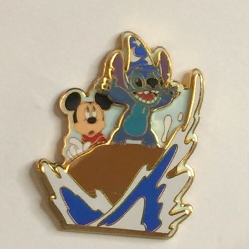 Disney Pin STITCH & MICKEY SPLASH MOUNTAIN 2005