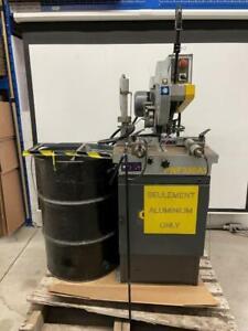 Scie industriel pour aluminium Hydmech PNF350AV Canada Preview