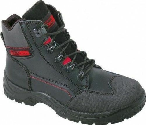 Blackrock PANTHER Steel Toe Cap Lightweight Safety Boot NERO Stivali tutte le taglie