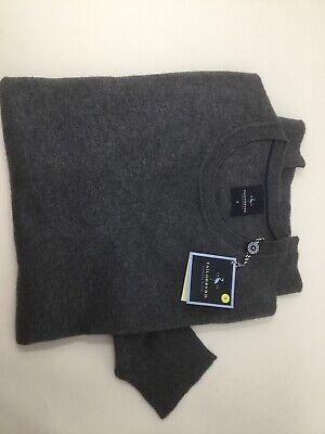 Tailorbyrd Maglione Pullover Taglia S Grigio Con Lana Nuovo Con Etichette-mostra Il Titolo Originale Morbido E Leggero