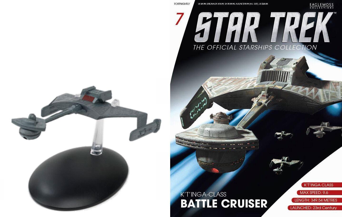 STAR TREK Official Starships Magazine #161 Void ship Eaglemoss