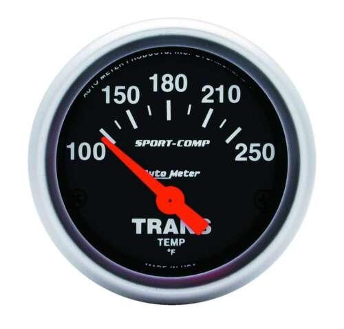 "Auto Meter 3357 Gauge Transmission Temp 2 1//16/"" 250 Electric Sport-Comp"