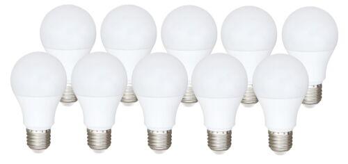 10 x Bioledex ARAXA LED Lampe AC//DC E27 9W 810Lm 5000K Notlicht Notbeleuchtung