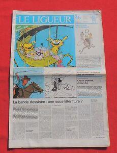 Tintin-dans-la-Presse-LE-LIGUEUR-1984-La-bande-dessinee-sous-litterature