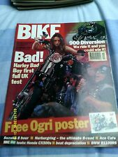 Bike Magazine(nov1994)Harly Bad Boy/Bmw R1100RS/900 diversion/CX500