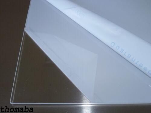 PLEXIGLAS XT glasklar 3,00 mm x 1000 mm Breite Streifen frei wählbar €44,64//qm
