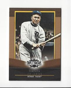 2011-Topps-Triple-Threads-Sepia-26-Ty-Cobb-Tigers-625