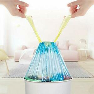 4-6-Gallon-Drawstring-Garbage-Bags-100-Counts-Trash-For-Home-And-Office-Blue