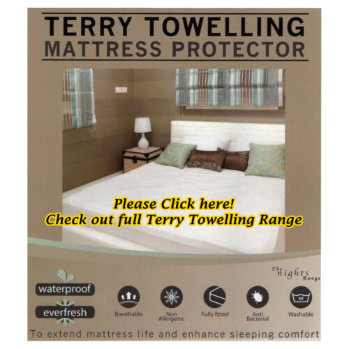 King Size Mattress Protector Sheet Wet Matress Cover Waterproof Washable Gift