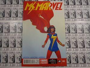 Ms-Marvel-2014-Marvel-3-1st-Print-Kamala-Khan-Wilson-Alphona-VF-NM