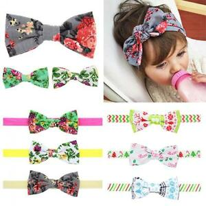 Bow-Knot-Floral-Flowers-Hair-Band-Headband-Turban-Hair-Clip