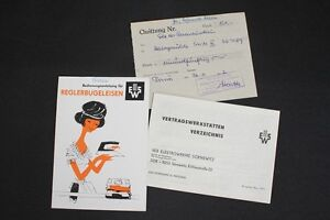 Old-GDR-Manual-Reglerbugeleisen-Iron-Ews-Br-27