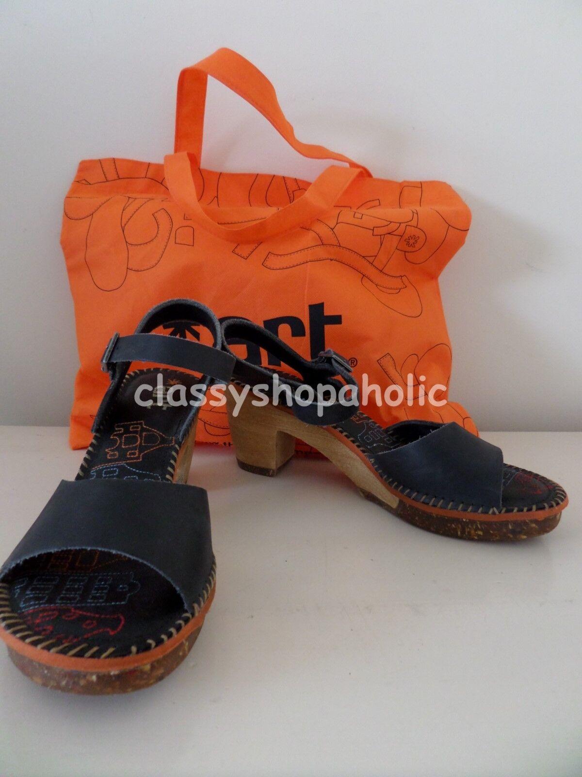 Art Black Leather Amsterdam Sandals - Size 38 UK 5 - BNIB