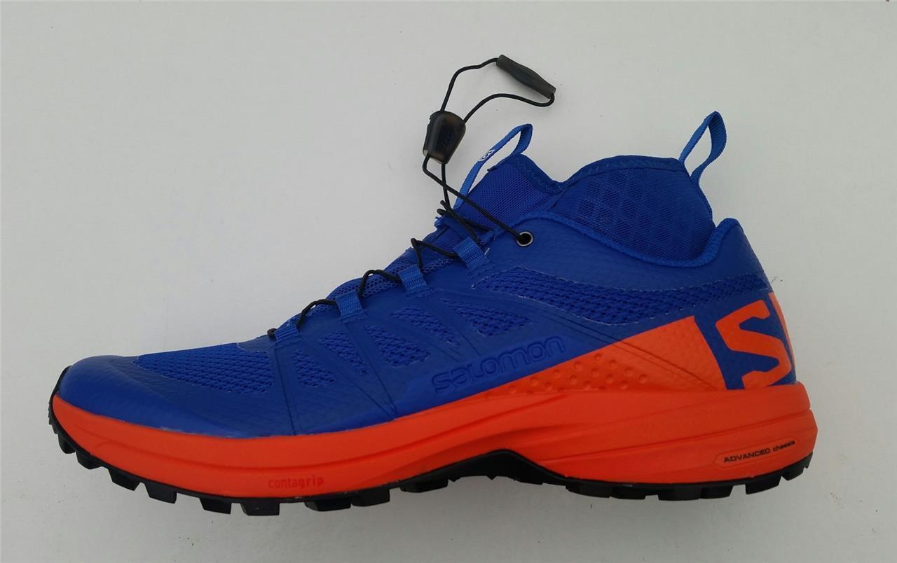 Salomon Hombre Xa Enduro Azul Nuevo Trail Running Deporte Zapatillas Exterior