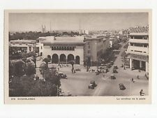 Morocco, Casablanca, Le carrefour de la poste Postcard, A511