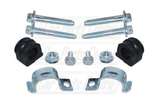 FOR AUDI VW FRONT ANTIROL BAR STABILISER D BUSH BUSHES CLAMPS KIT PAIR 21mm