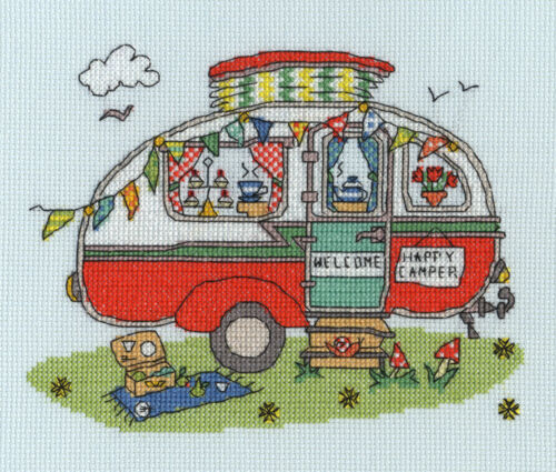 Bothy Threads ~ Counted Cross Stitch Kits ~ Sew Dinky ~ 4 Designs
