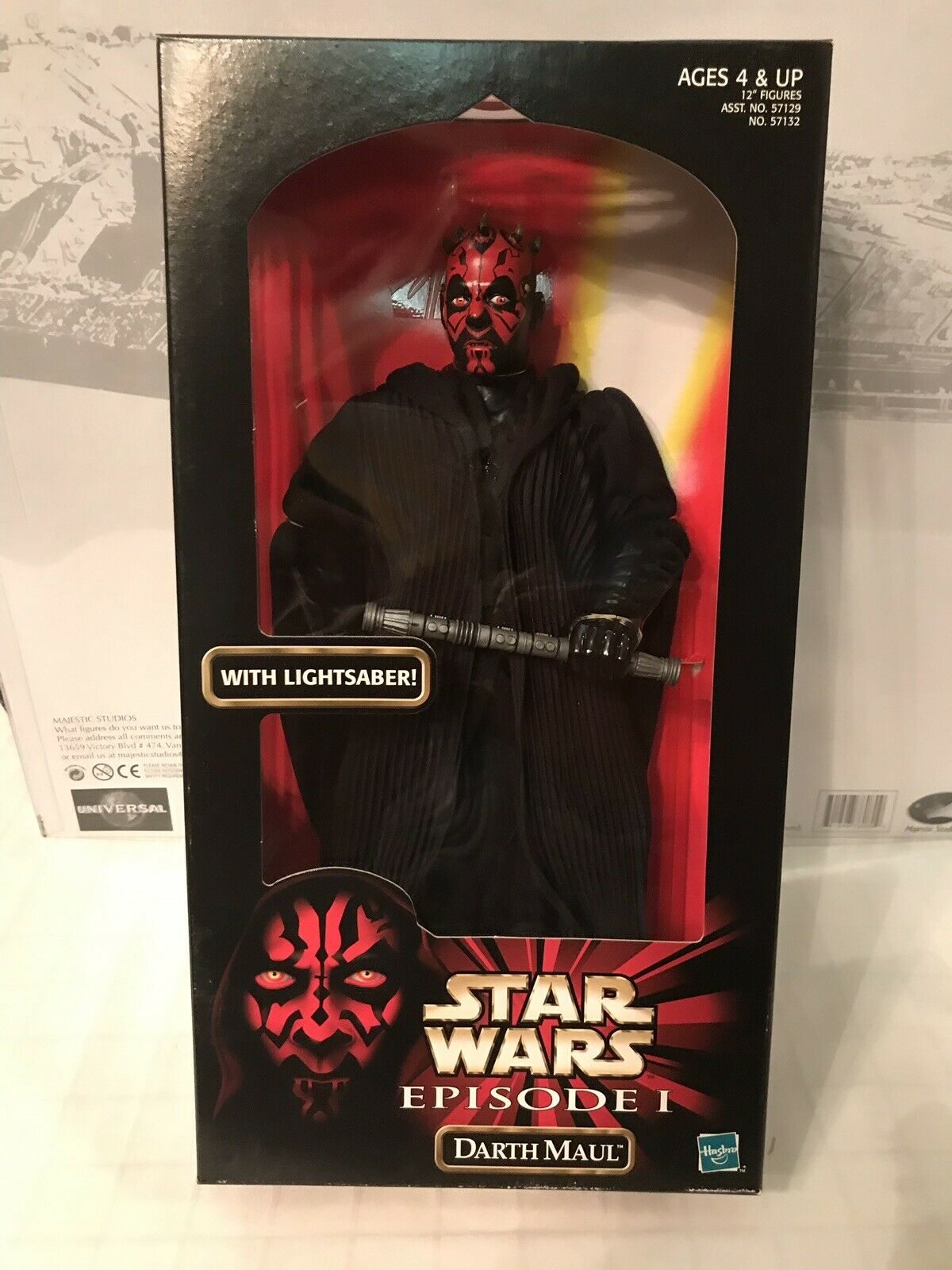 "Star Star Star Wars Episode I Action Collection Darth Maul 12"" 4a4042"