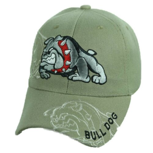 BULL DOG Baseball Cap Solid Hat Plain Hats Adjustable Casual Fashion Caps