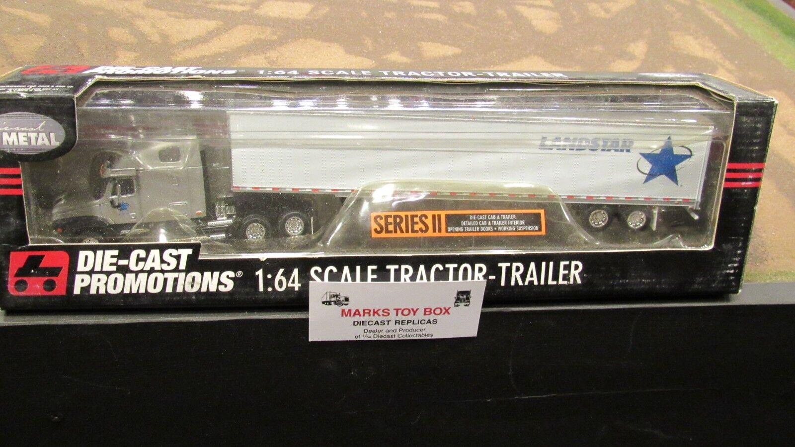 DCP  30778 Landstar transport FL Semi Cab camion & remorque 1 64 File voitured  dessins exclusifs