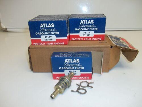 1 Box of 6 EA Gasoline Fuel Filter FF-19 BF989 G3515 GF454 GF-73 F10024  FG44