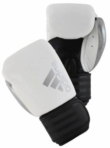 Adidas Hybrid 200 Boxing Gloves Adult Leather Sparring Glove Muay Thai Kickboxin