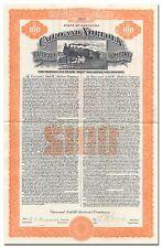 Cairo and Norfolk Railroad Company Bond Certificate (Kentucky)