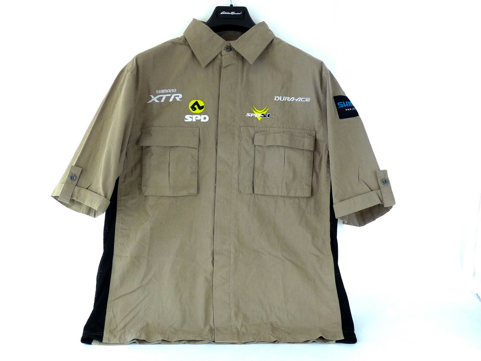 Shimano Mechanics shirt XTR Dura Ace Beige Size XXL 2XL NOS
