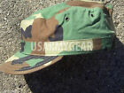 New 7 3/4 7.75 US Army Military Woodland Camouflage USGI Patrol Cap Hat Cover