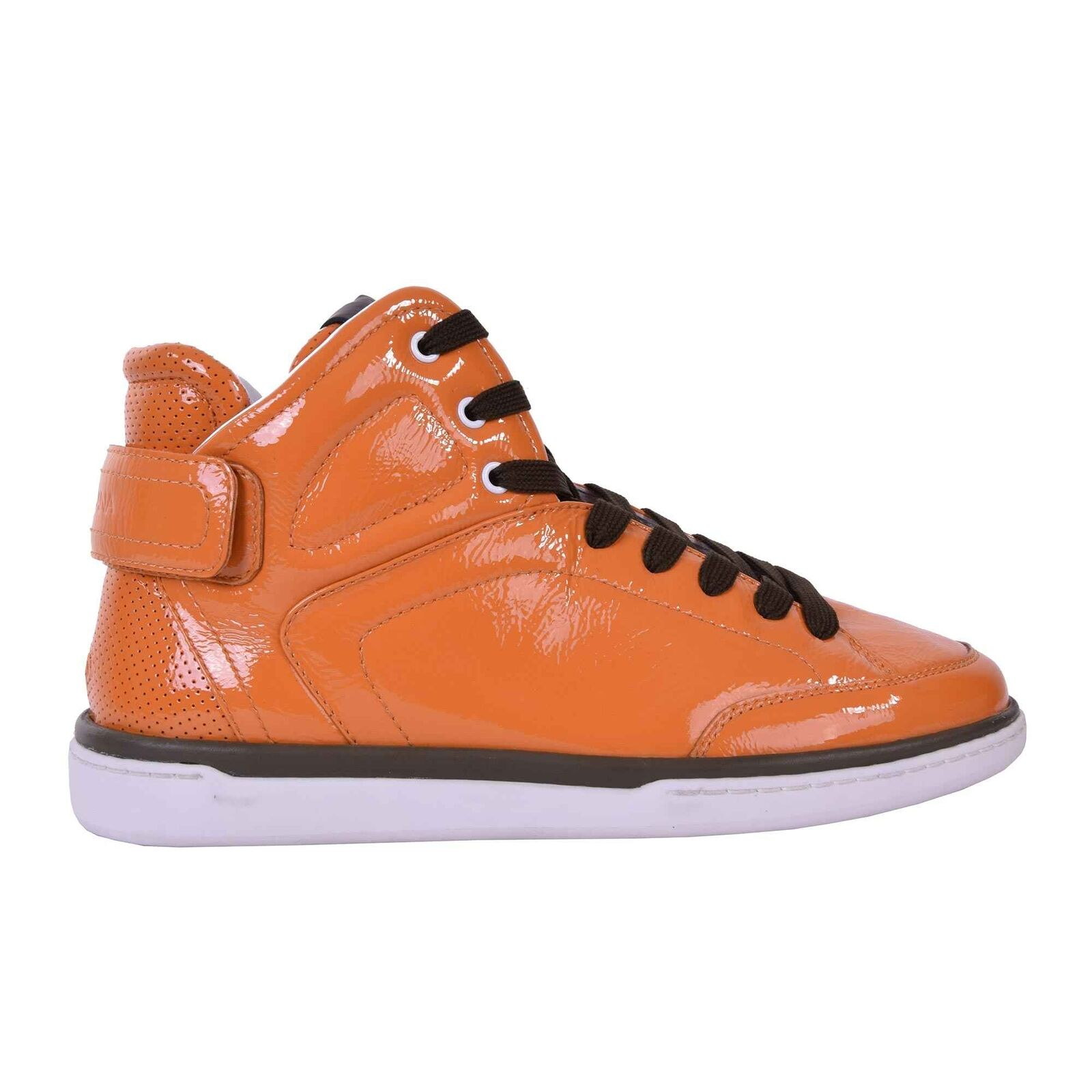 DOLCE & GABBANA High-Top Lackleder Sneakers 05935 Sneaker Zapatos USLER Naranja 05935 Sneakers 613641