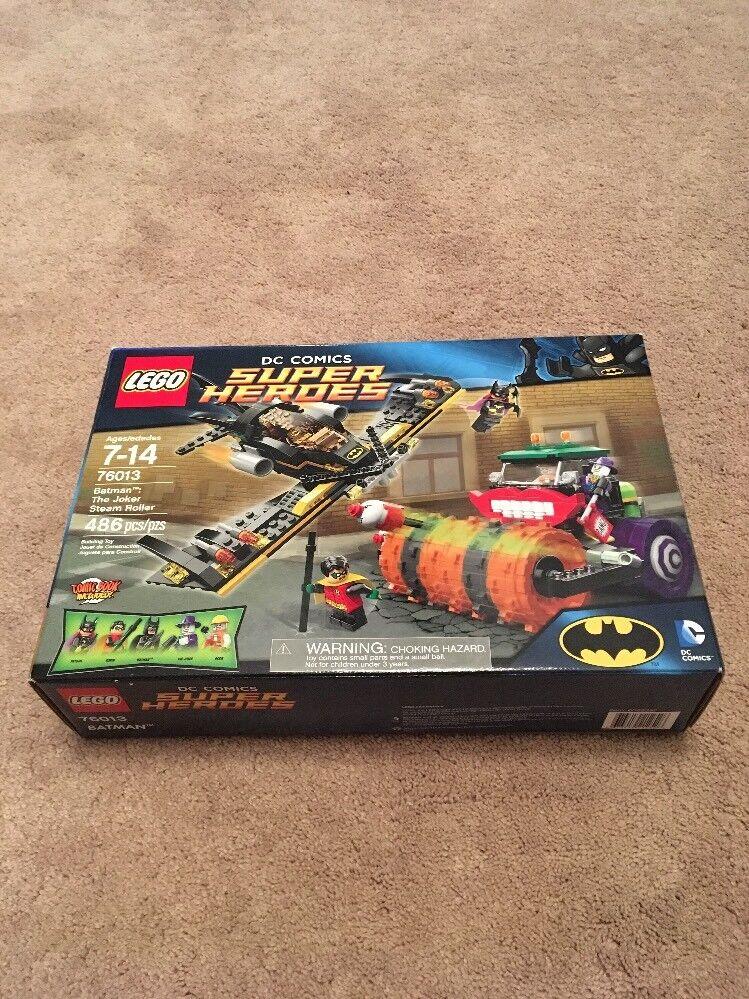 LEGO DC serier Super Heroes läderlappen Jokern Steam Roller 76013 Robin Batgirl