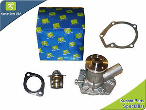 New Kubota D750 WATER PUMP with THERMOSTAT