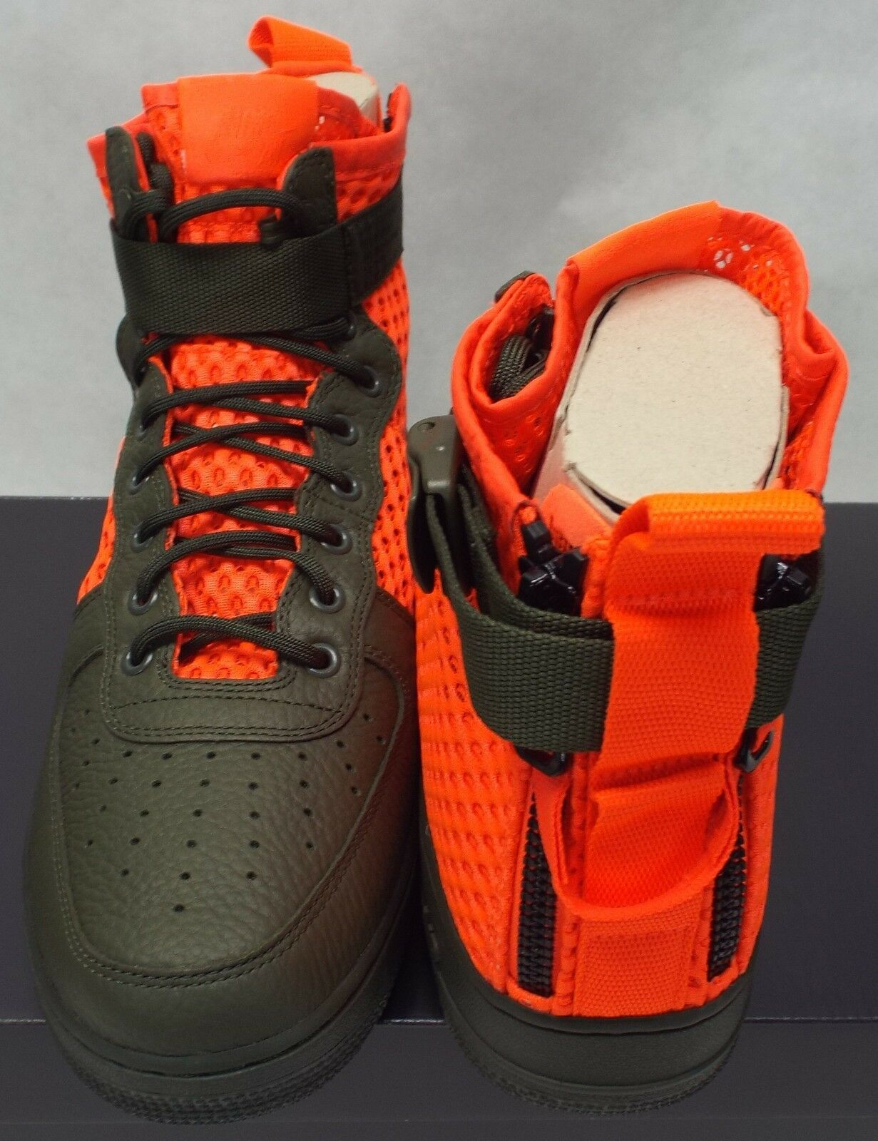 HOMMES 12 NIKE SF AF1 Mid QS Hunting Hiking 170 Orange vert Chaussures  170 Hiking AA7345-300 bed247