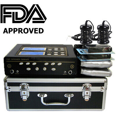 New Dual User Foot Bath Spa Machine Ionic Detox Cell Cleanse W Lcd 5 Modes Belts Ebay