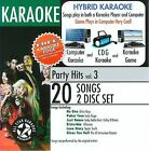 Party Hits, Vol. 3 by Karaoke (CD, 2009, 2 Discs, All Star Karaoke)